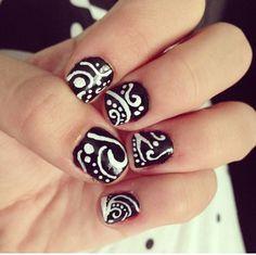 My New Year's Eve nails! #diy #nails