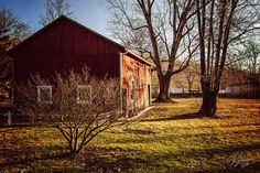 Wise Old Barn Sunrise Art Print by Joshua Zaring. All prints are professionally printed, packaged, and shipped within 3 - 4 business days. Thing 1, Landscape Prints, Nature Prints, All Print, Sunrise, Barn, Fine Art Prints, House Styles, Converted Barn