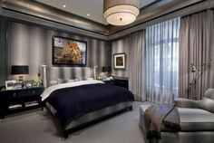 suave and deco inspired interior luxurious bedroom pinterest interiors bedrooms and guest bedroom decor