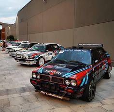 Hatchback Cars, Martini Racing, Lancia Delta, Rally Car, Evo, Fiat, That Way, Vintage Cars, Transportation