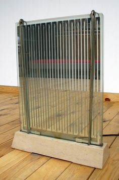 Machine Age Radiator Saint Gobain Radiaver Industrial | 20th century Modern online gallery. Featuring a large and varied selection of vintage design and architect furniture. | Shipping worldwide | http://www.furniture-love.com/vintage/objects/