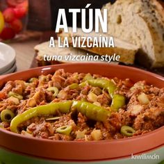 ´Video de Delicioso Atún a la Vizcaína – Atıştırmalıklar – The Most Practical and Easy Recipes Tuna Recipes, Seafood Recipes, Mexican Food Recipes, Cooking Recipes, Healthy Recipes, Cooking Blogs, Cooking Videos, Deli Food, Good Food