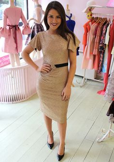 Star Dress Gold | Ruby Rouge Boutique - Instore | Online