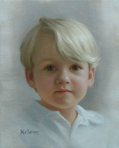 """Painting by Brian Neher, Portrait of Henry, 10"""" x 8"""", Oil on Linen www.BrianNeher.com"""