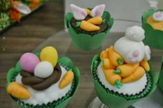 Cupcakes coelhinhos -páscoa