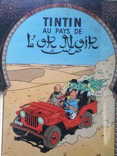 Tintin au pays L'or Noir book #tintin #adventure #books #art #french