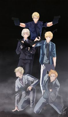 This is So Cool! - Nordic Agents by Zweri.deviantart.com on @deviantART