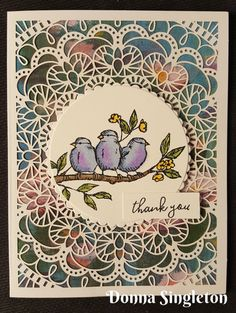 Free As A Bird stamp set, Bird Ballad lace cards from Stampin' Up! Fern Images, Laser Cut Paper, Glue Dots, Cards For Friends, Stampin Up Cards, Paper Cutting, Note Cards, Card Stock, Product Launch