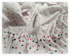 Crib sheet tutorial - need 2 yards of fabric (45 inches wide) & 2 yards of elastic (5/8 or 1/2). basic sewing supplies and you're all set