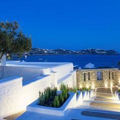 De.Light Boutique Hotel Agios Ioannis Diakoftis, Greece Beachfront Living Lounge Luxury Ocean Scenic views sky outdoor swimming pool property Resort leisure vacation Villa resort town Sea caribbean