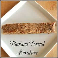 Raw Vegan Gluten-Free Banana Bread Larabars
