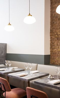 Beautiful Restaurant Interior Design / hospitality design, design inspiration, restaurant design #restaurantdesign #hospitalitydesign #designinspiration For more inspiration, visit: http://brabbucontract.com/projects