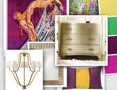 I pinned this from the Design Report - Mardi Gras event at Joss & Main!