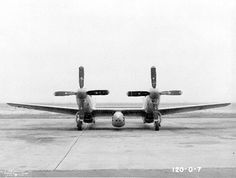 North American : XP-82 : Twin Mustang Took two pilots to fly it & it was used as an All Weather Interceptor.