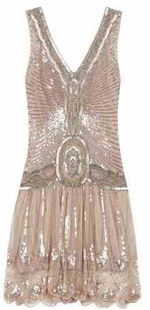 1920's style dress.. would like a dress like this for the reception:)