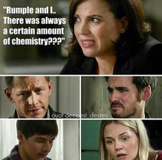 I had the same reaction as all of them when I heard Regina say that!