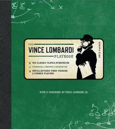 The Official Vince Lombardi Playbook: * His Classic Plays & Strategies * Personal Photos & Mementos * Recollections from Friends & Former Players by Phil Barber. Save 20 Off!. $23.92. Author: Phil Barber. 160 pages. Publisher: Lyons Press; 1 edition (September 1, 2009). Publication: September 1, 2009