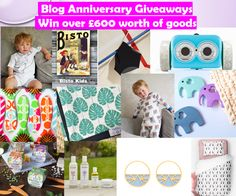 Blog Anniversary Giveaways, The Frenchie Mummy, Blog Anniversary, Win £600 worth of goods