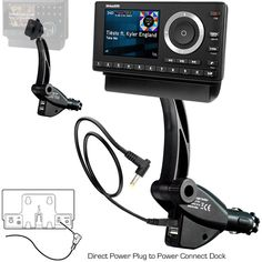 ChargerCity Dual USB Sirius XM Satellite Radio Lighter Socket Car Mount w/Tilt adjust & PowerConnect Vehicle Power Cable Adapter Charger for Onyx Lynx Edge Plus Stratus Starmate 5 6 7 8 Xpress EZ R RC. New all in one SiriusXM Radio mounting and charging solution from ChargerCity (for SiriusXM POWERCONNECT Dock only). Dual USB 5V Lighter Charger Socket SiriusXM Radio Mount with USB Charging Cable adapter & Single Tab mounting pattern connector. Compatible with PowerConnect dock XMP3i…