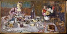 Édouard Vuillard (French, 1868–1940). Luncheon, 1901. The Metropolitan Museum of Art, New York. Bequest of Mary Cushing Fosburgh, 1978 (1979.135.28)
