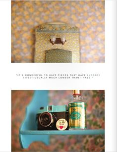 love these photos paired with the text from Rue Magazine