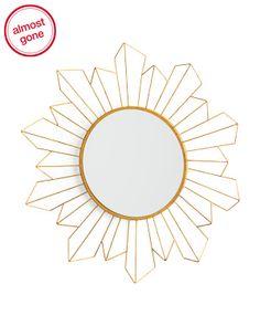 3c7d0bb3f1f 32in Star Mirror - Glitz   Glam - T.J.Maxx