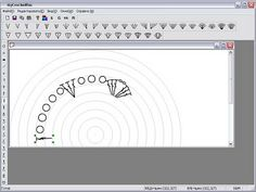 Wow!! This is a program you can install for free in order to create your own crochet diagrams in circles and in lines!! There is a video in Portuguese to explain how it works but just look at it and you will get it!! I can stop playing with it!!