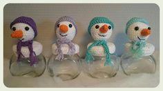 Sneeuwpop potjes