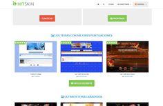 Nueva actualización en http://es.hitskin.com Posibilidad de votar las plantillas: