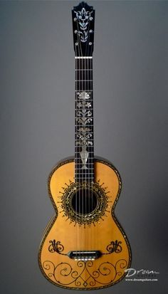 1995 Boaz Guitars Baroque - Concert, Renaissance, Early Instruments Classical Guitar at Dream Guitars Guitar Art, Music Guitar, Cool Guitar, Playing Guitar, Guitar Chords, Making Musical Instruments, Music Instruments, Acoustic Guitar Magazine, Acoustic Guitars