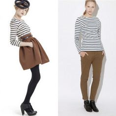 Stripes! Of the nautical sort.