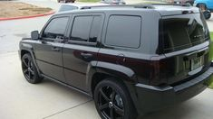 jeep commander blacked out - Google Search