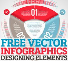 32 Free Vector Infographic Designing Elements #vectorkits #vectorgraphics