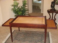 Jigsaw puzzle table by WoodClassics on Etsy