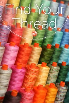 Find the perfect thread for your projects! No matter what your creative endeavors are, the Craftsy Supply Shop has thread that's sure to coordinate perfectly and create clean, captivating results.