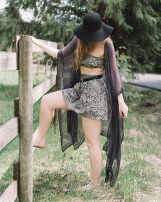 MAXI KIMONO - LILAC MUAVE Gypsy Style, Hippie Style, Bohemian Style, Boho Chic, Music Festival Fashion, Indie Festival, Bandeau Top, Hippie Masa, Spring Summer Fashion