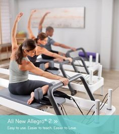 Balanced Body Allegro 2 Reformer -- I want this so bad <3