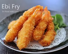 To Food with Love: Ebi Fry (Fried Shrimp)