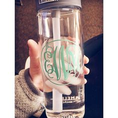 classy carolina girl, great for a workout bottle.