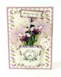 Anna Griffin Flower Pot Decoupage Die Cuts