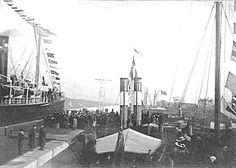 Ship Canal Opening Day, 1st Jan 1894