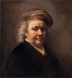 Self-portrait Artist: Rembrandt