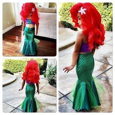 Just In! the little mermai...  Check it out  http://www.click4costumes.online/products/the-little-mermaid-tail-princess-ariel-dress-cosplay-costume-kids-for-girl-fancy-green-dress?utm_campaign=social_autopilot&utm_source=pin&utm_medium=pin