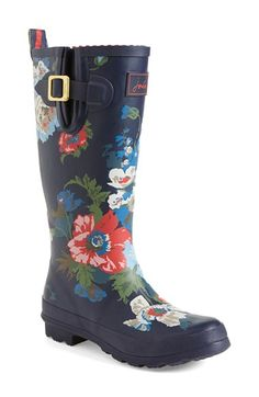 Joules 'Wellyprint' Rain Boot