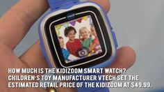 KidiZoom SmartWatch Review - A Smart Watch For Kids By Vtech