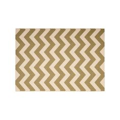 Safavieh Courtyard Zigzag Chevron Indoor Outdoor Rug, Green, Durable
