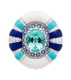 La Baque Seven Seas ring by Van Cleef & Arpels