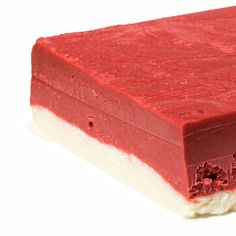 Red Velvet Cake Fudge oh my goodness oh my goodness@ emily speer, just for nicholas!