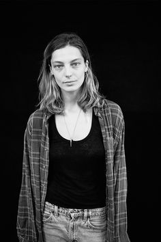 Vogue.com teams up with activist photographer iO Tillett Wright for a new series of portraits for her We Are You campaign. Here, Daria Werbowy. See more photographs on Vogue.com.
