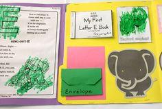 Letter E Lapbook Inside left